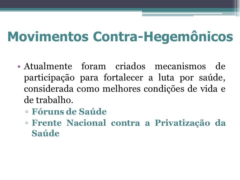 Movimentos Contra-Hegemônicos