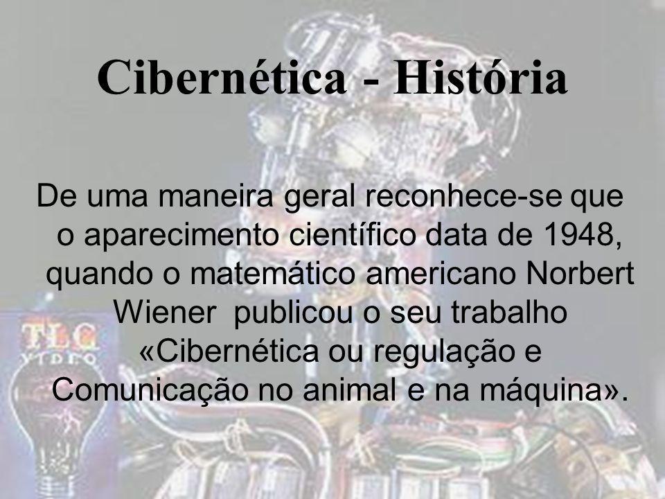 Cibernética - História