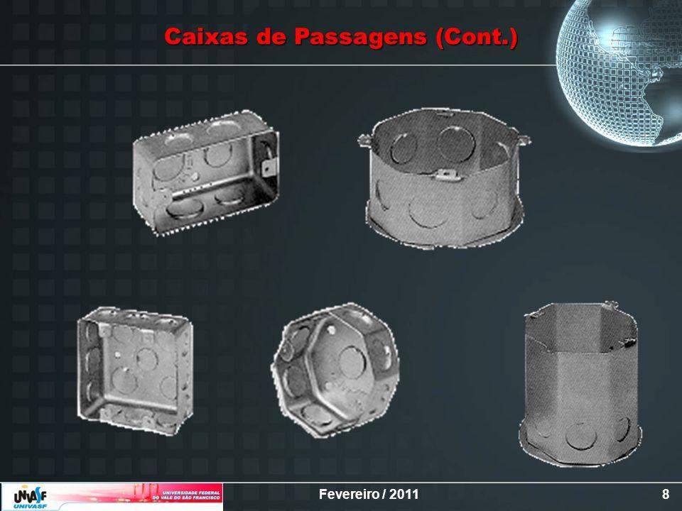 Caixas de Passagens (Cont.)