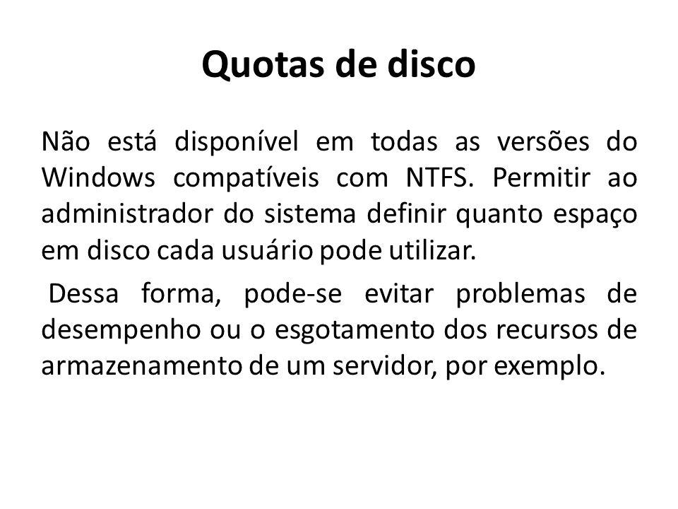 Quotas de disco