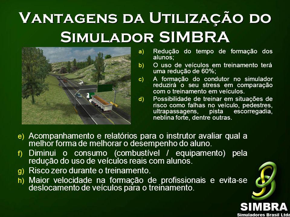 Vantagens da Utilização do Simulador SIMBRA