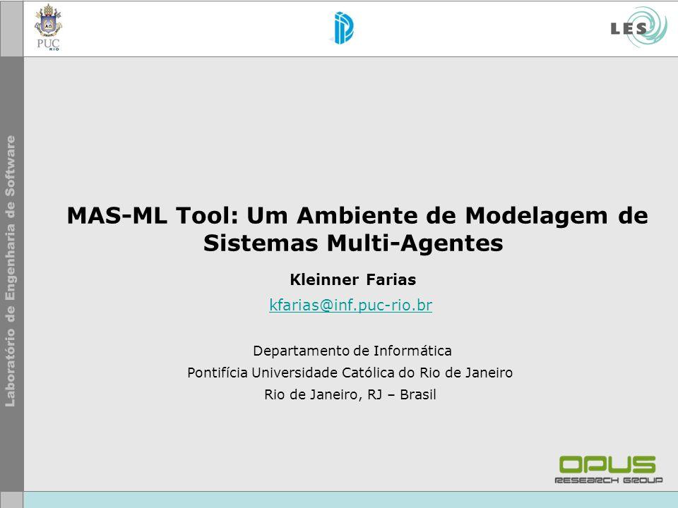 MAS-ML Tool: Um Ambiente de Modelagem de Sistemas Multi-Agentes