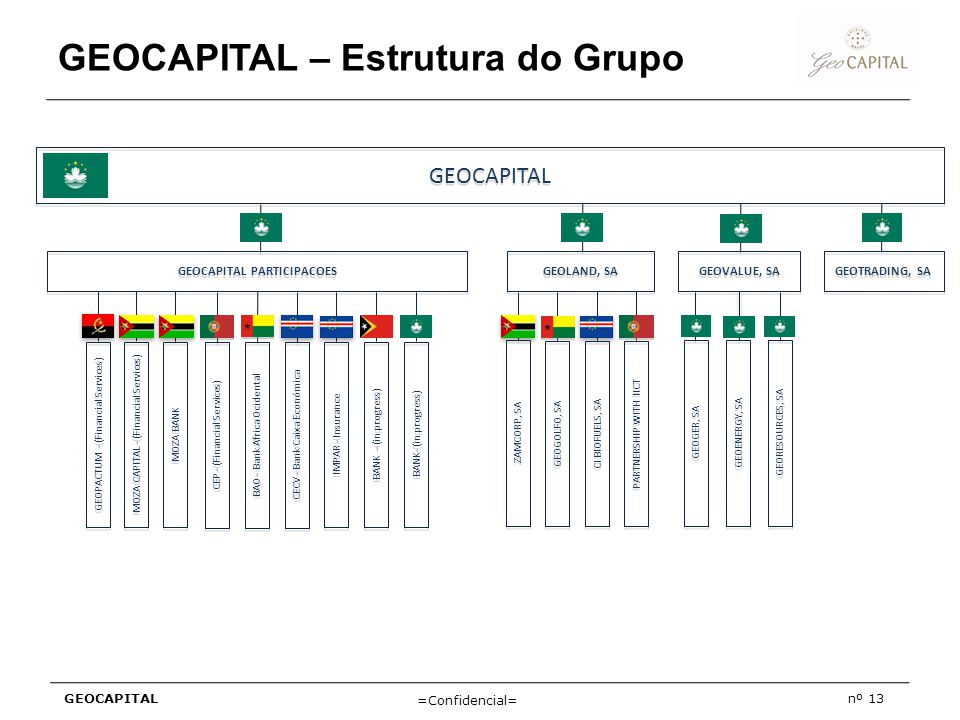 GEOCAPITAL – Estrutura do Grupo