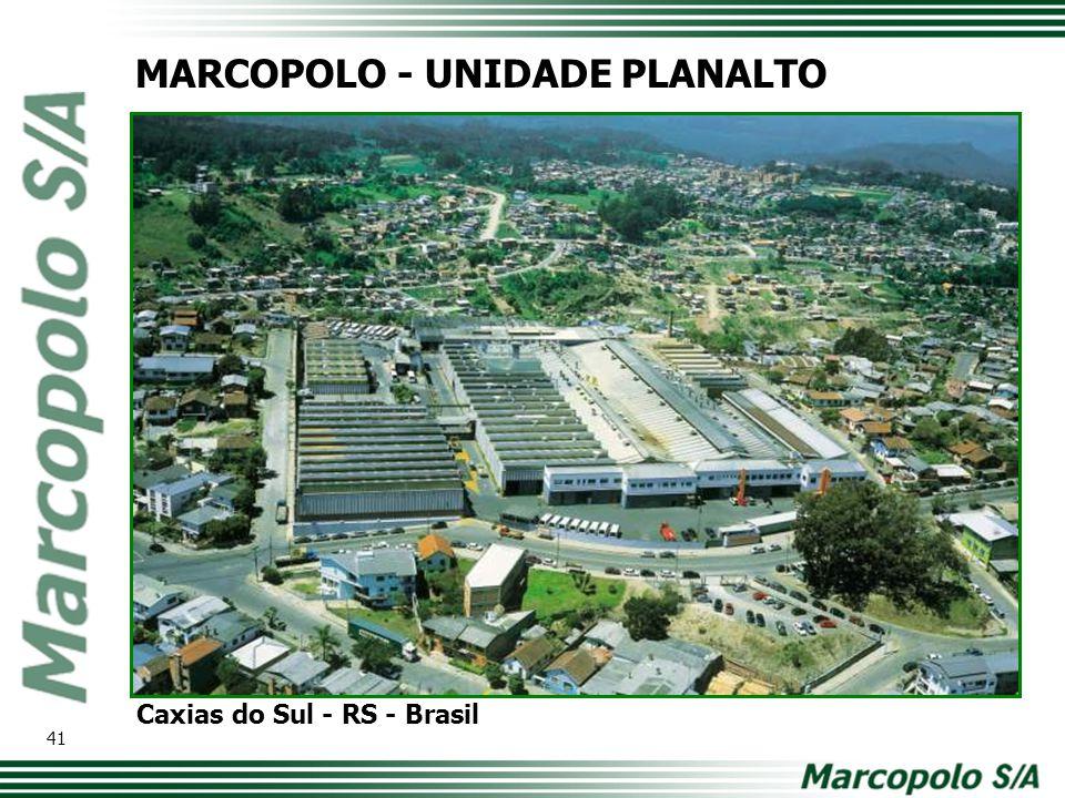 MARCOPOLO - UNIDADE PLANALTO