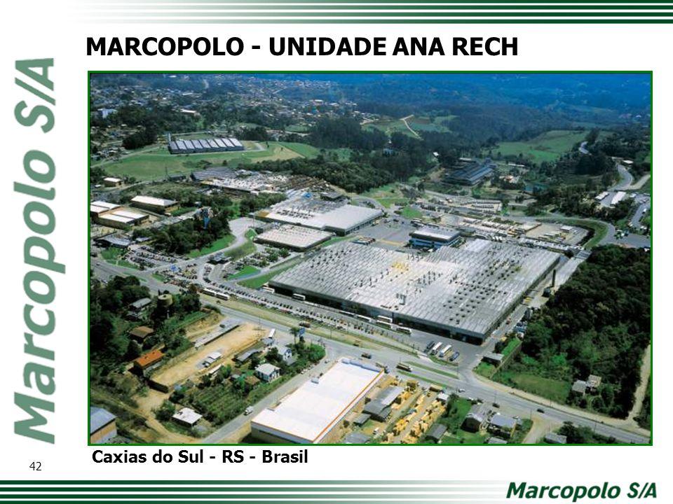 MARCOPOLO - UNIDADE ANA RECH