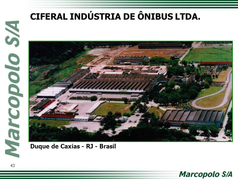 CIFERAL INDÚSTRIA DE ÔNIBUS LTDA.