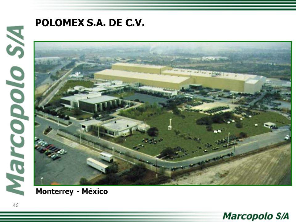 POLOMEX S.A. DE C.V. Monterrey - México 46
