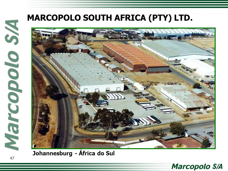 MARCOPOLO SOUTH AFRICA (PTY) LTD.