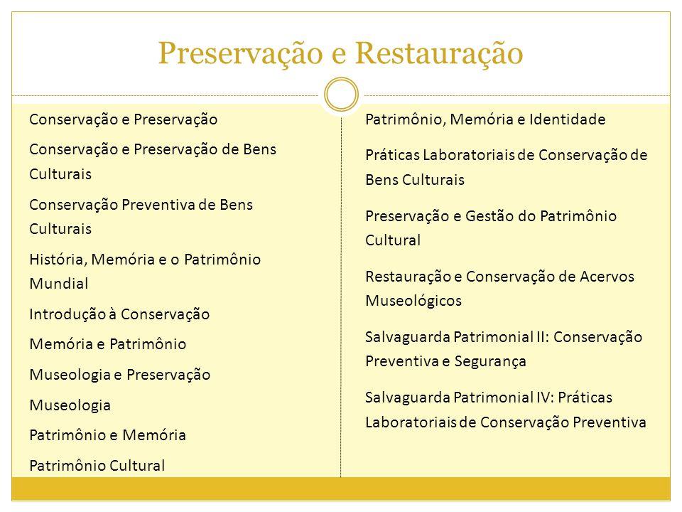 Preservação e Restauração