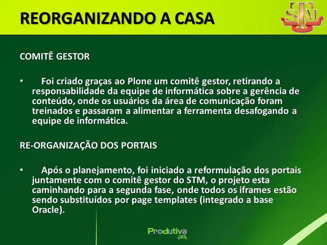 REORGANIZANDO A CASA COMITÊ GESTOR