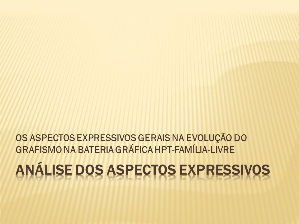 ANÁLISE DOS ASPECTOS EXPRESSIVOS
