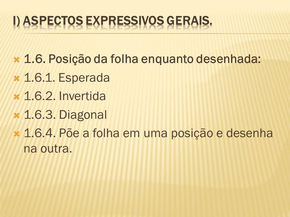 I) Aspectos Expressivos Gerais.
