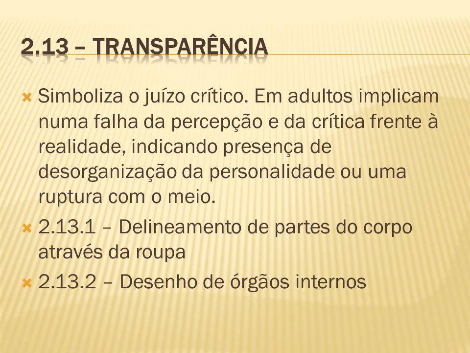 2.13 – Transparência