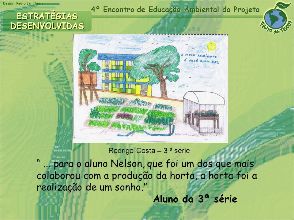 ESTRATÉGIAS DESENVOLVIDAS. Rodrigo Costa – 3 ª série.