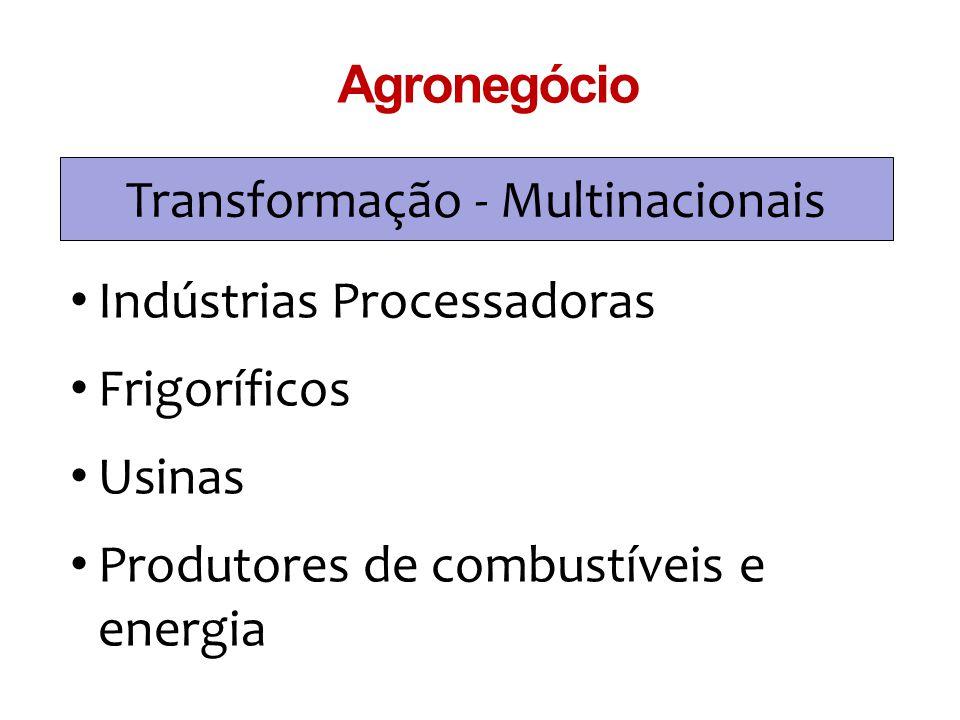 Transformação - Multinacionais