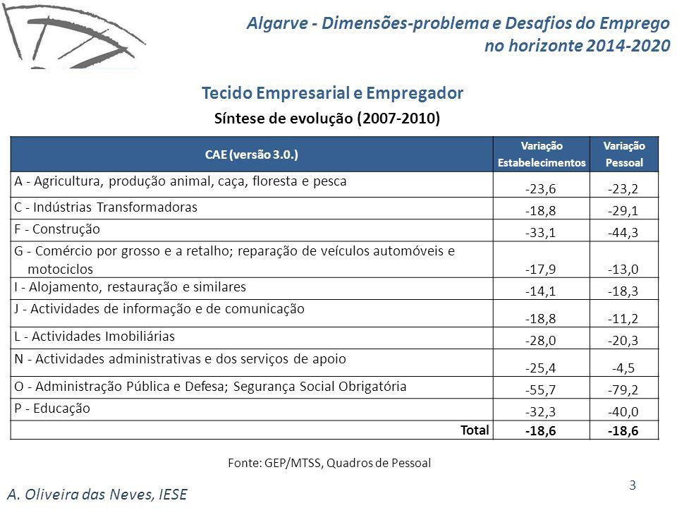 Tecido Empresarial e Empregador