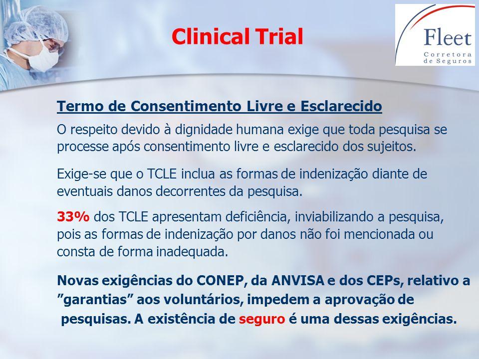 Clinical Trial Termo de Consentimento Livre e Esclarecido