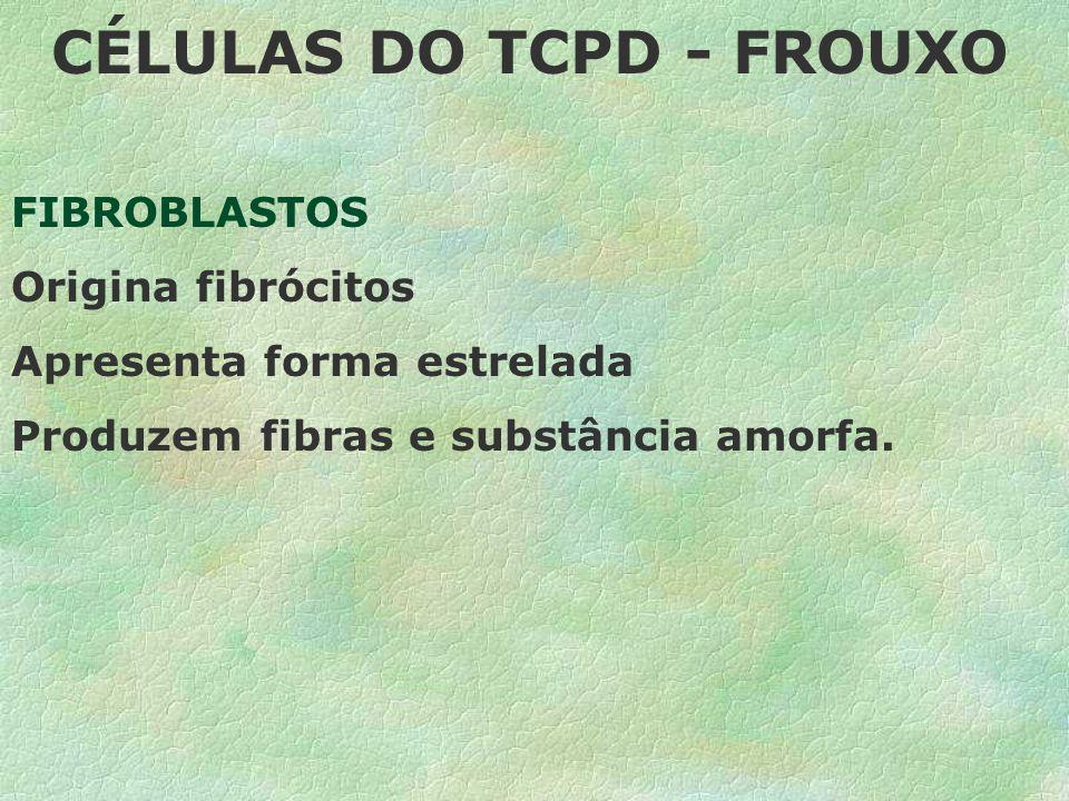 CÉLULAS DO TCPD - FROUXO