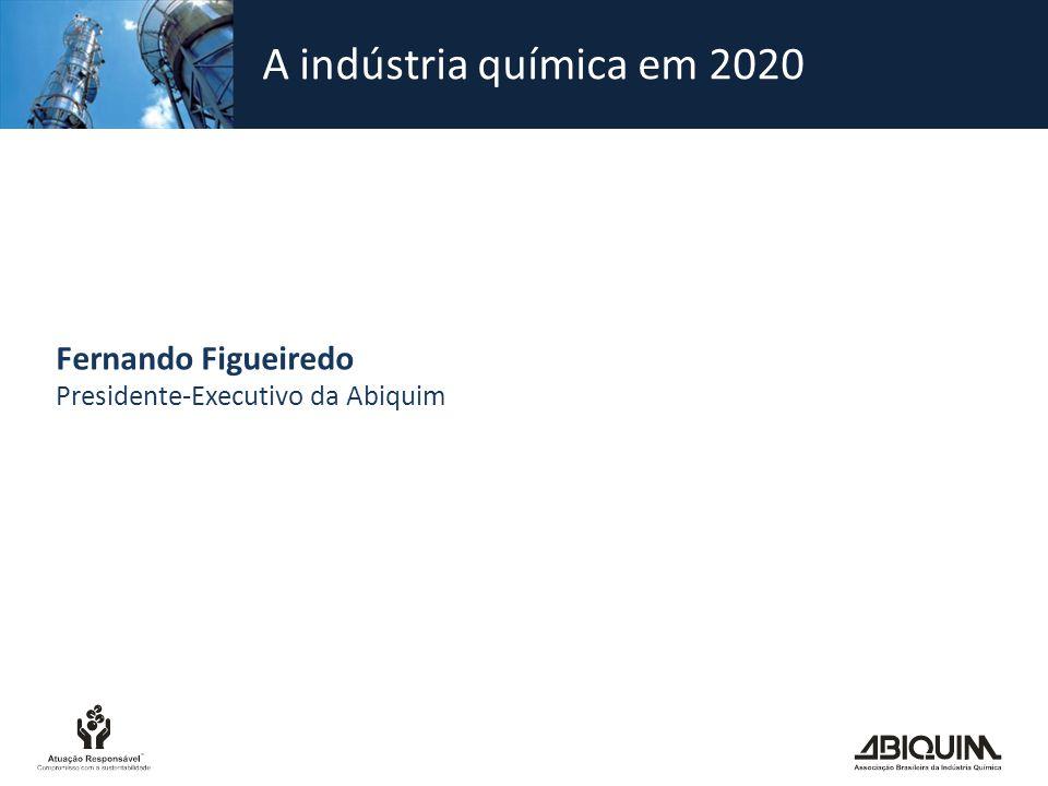 A indústria química em 2020 Fernando Figueiredo
