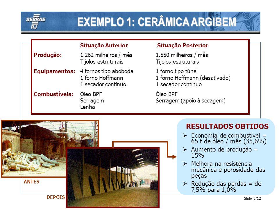 EXEMPLO 1: CERÂMICA ARGIBEM