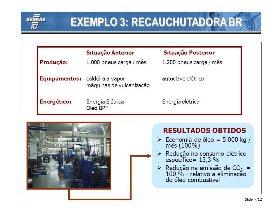 EXEMPLO 3: RECAUCHUTADORA BR