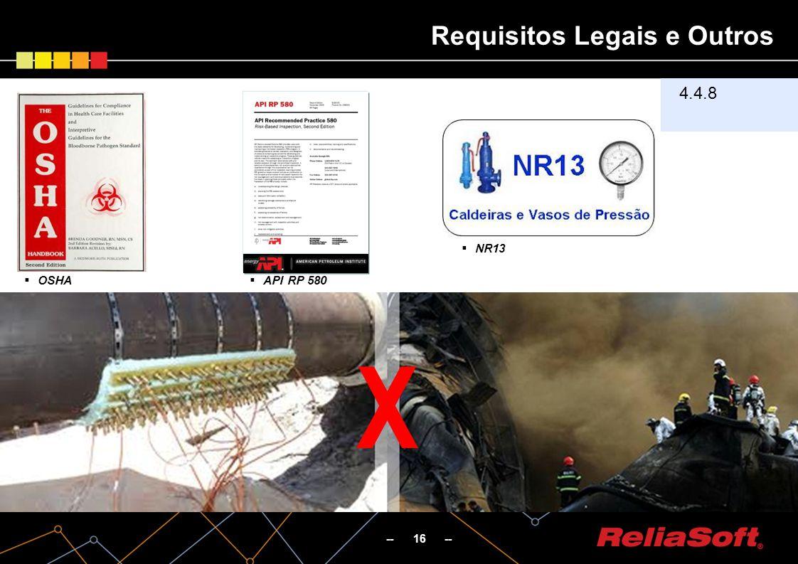 Requisitos Legais e Outros