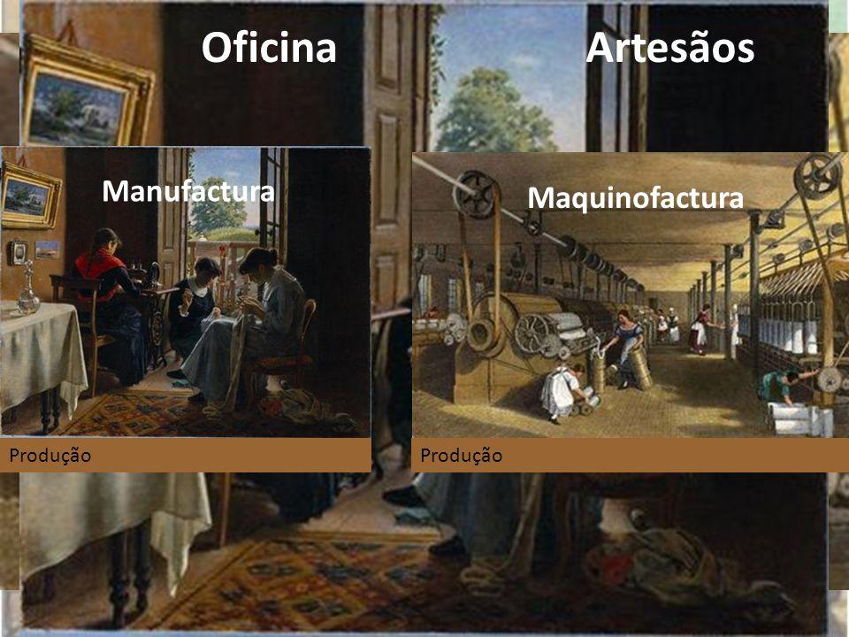 Oficina Artesãos Fábrica Operários Manufactura Maquinofactura Produção