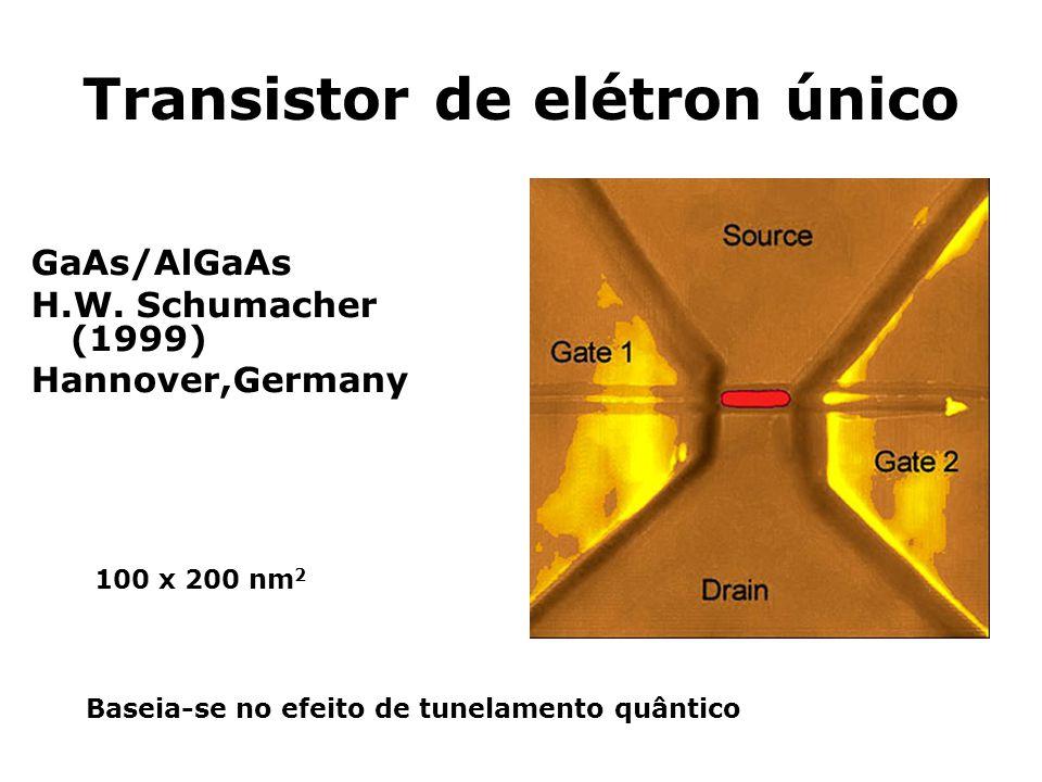 Transistor de elétron único