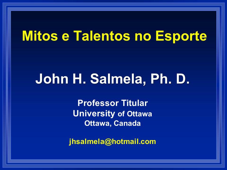 Mitos e Talentos no Esporte