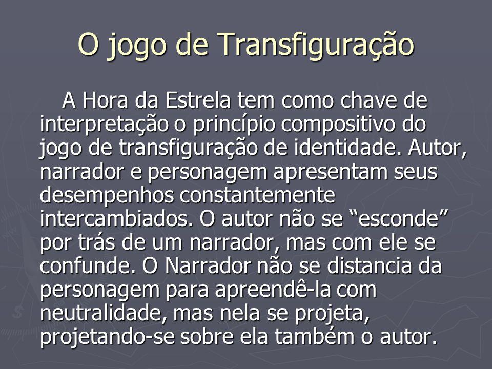 O jogo de Transfiguração