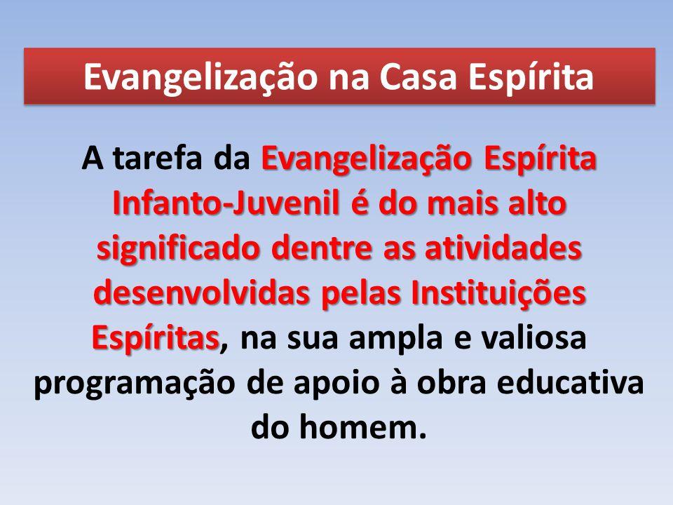 Evangelização na Casa Espírita