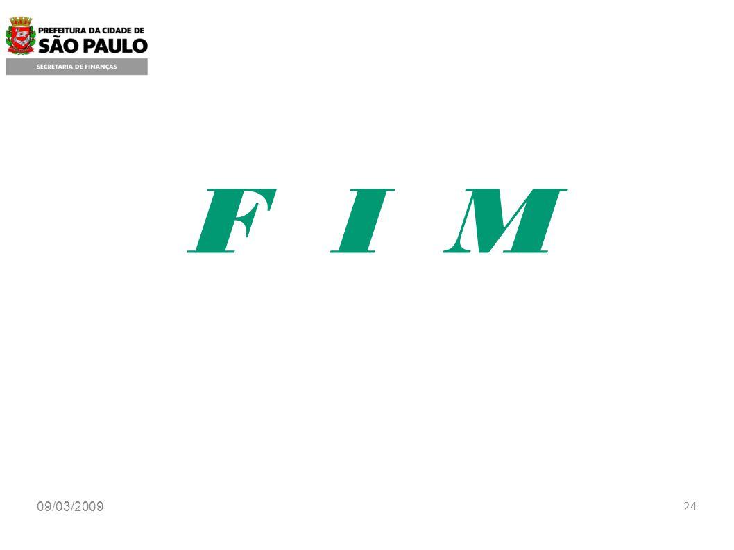 F I M 09/03/2009