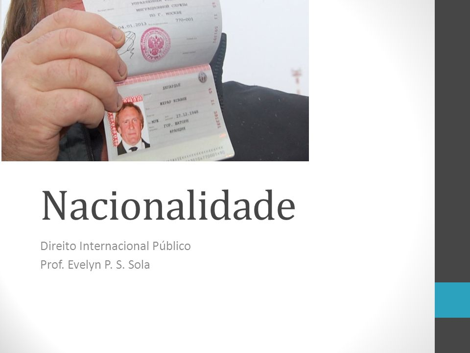 Direito Internacional Público Prof. Evelyn P. S. Sola
