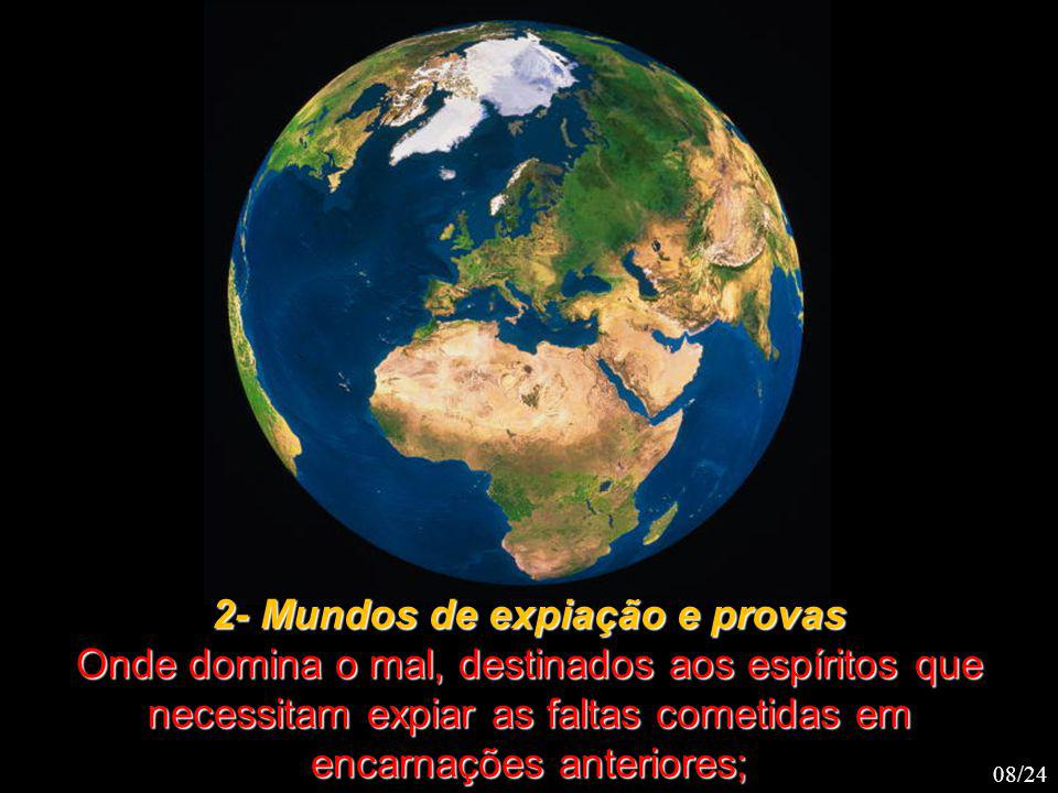 2- Mundos de expiação e provas