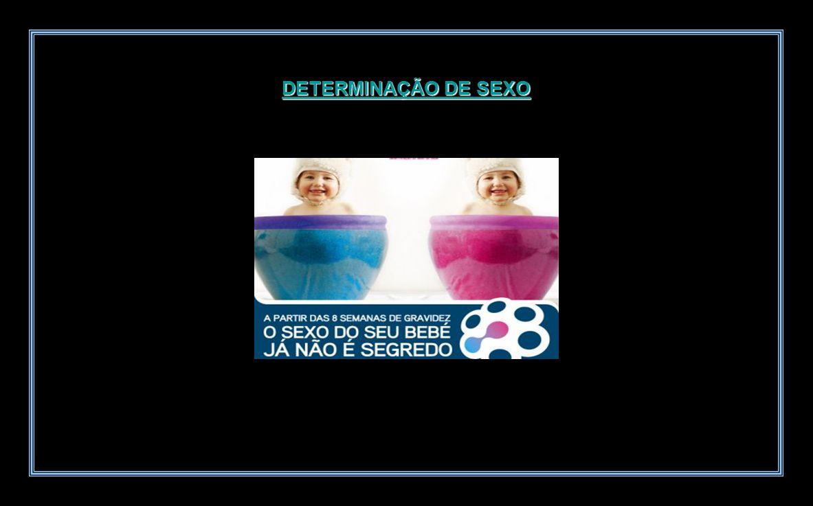 DETERMINAÇÃO DE SEXO