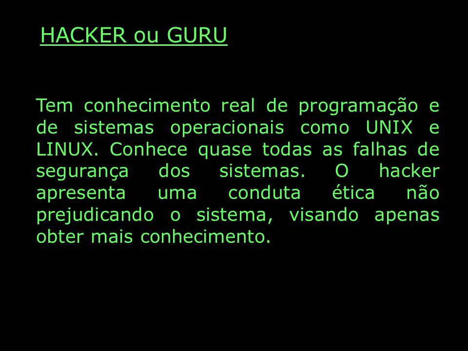 HACKER ou GURU