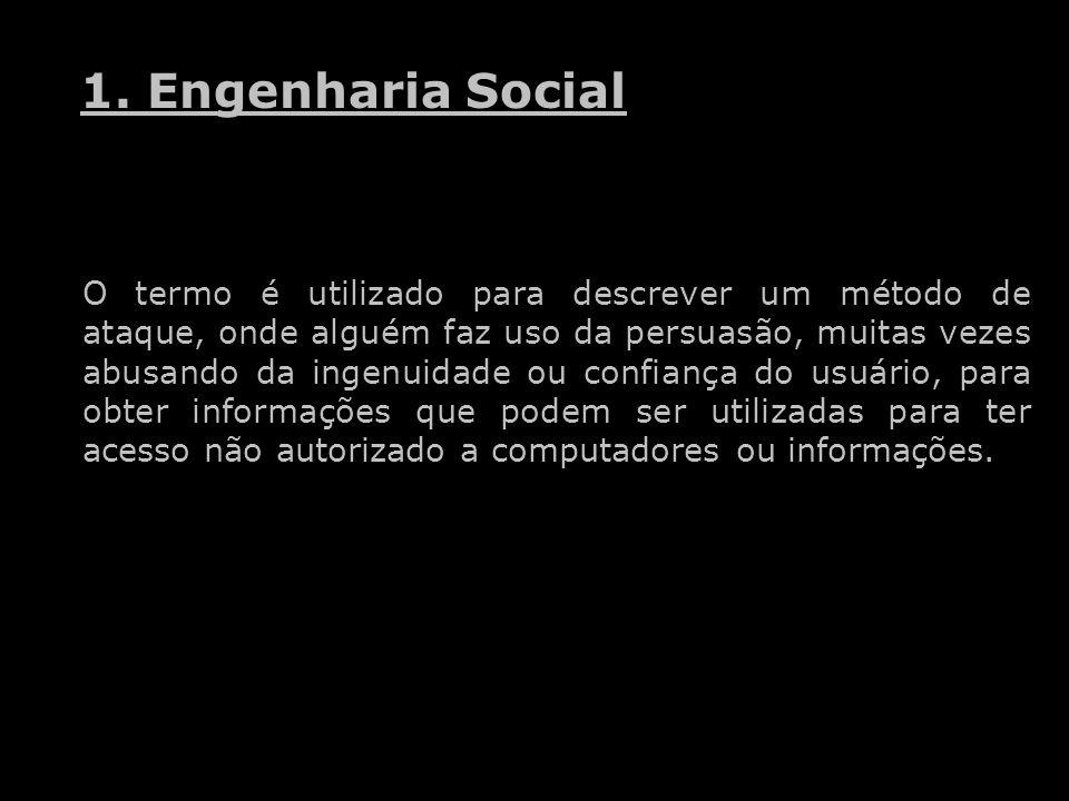 1. Engenharia Social