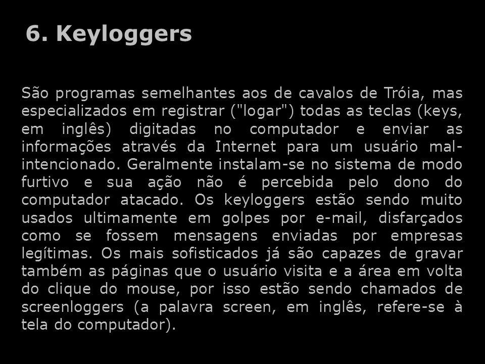 6. Keyloggers