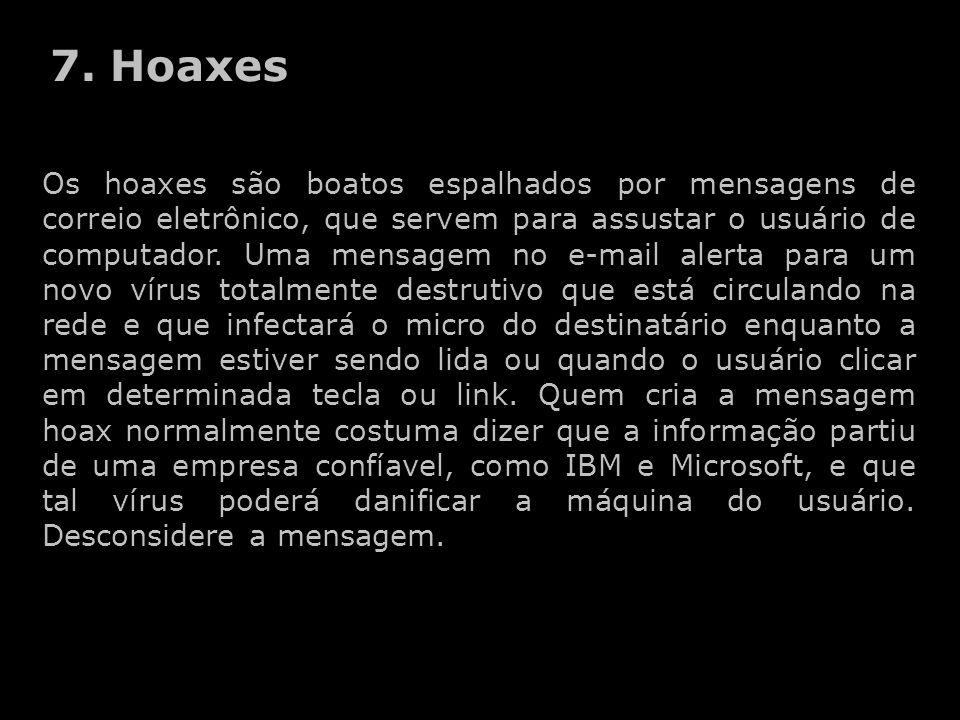 7. Hoaxes