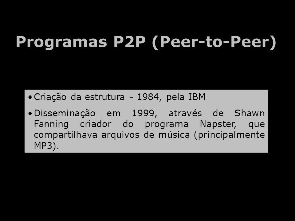 Programas P2P (Peer-to-Peer)