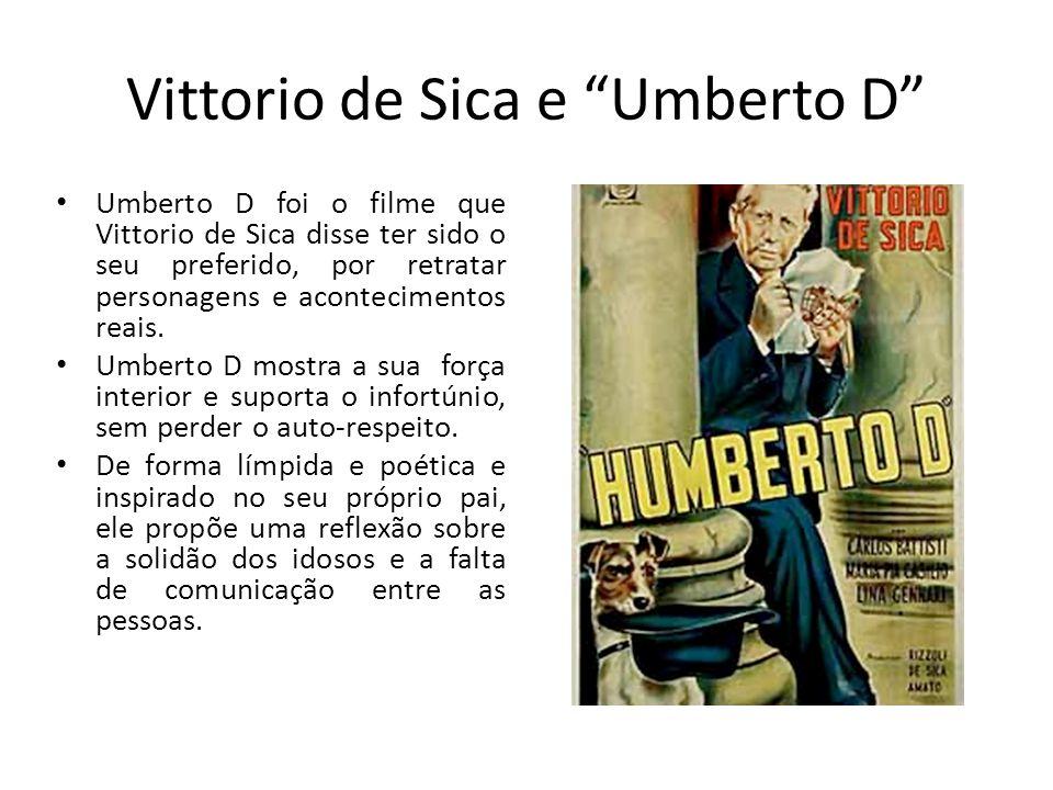 Vittorio de Sica e Umberto D