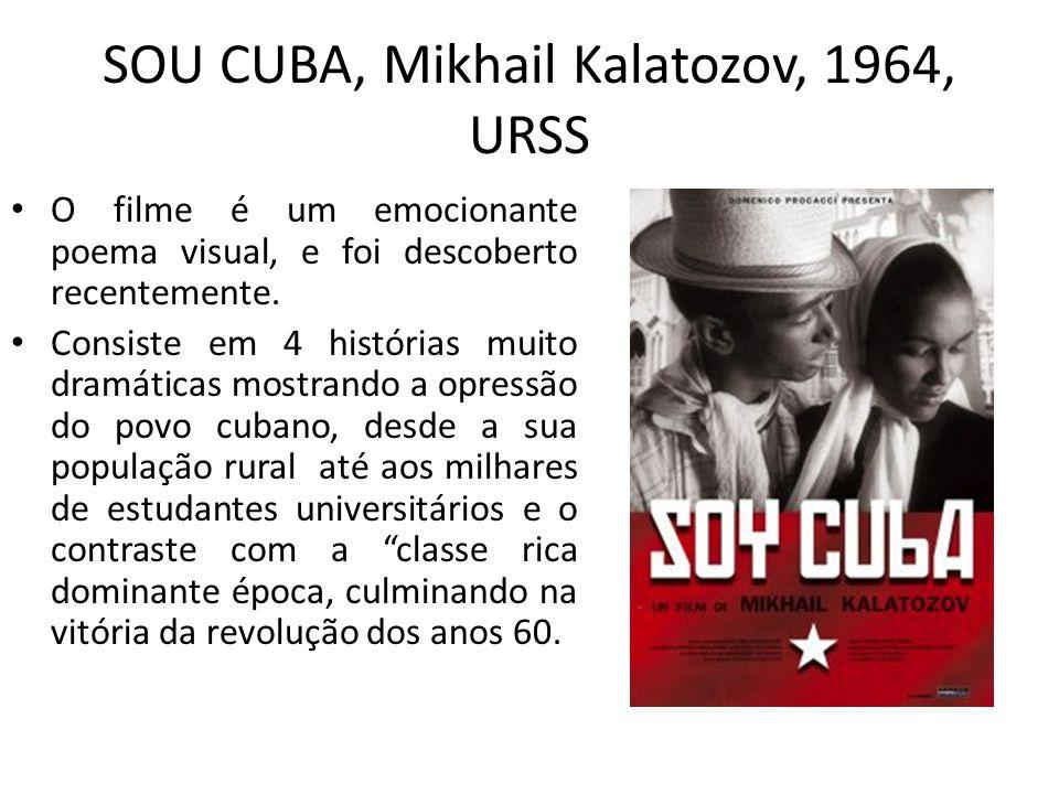 SOU CUBA, Mikhail Kalatozov, 1964, URSS