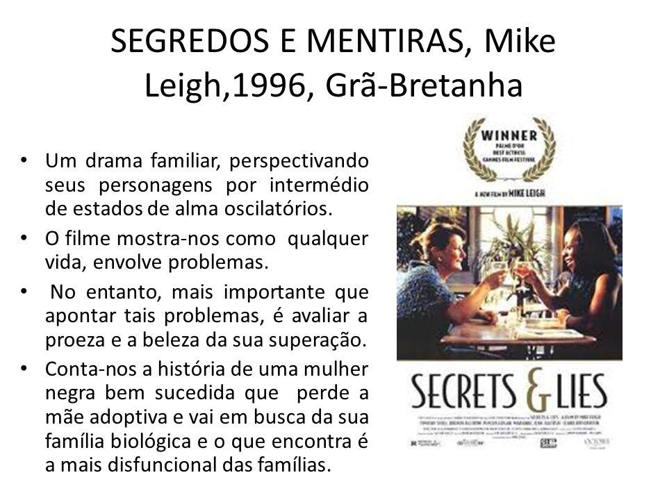 SEGREDOS E MENTIRAS, Mike Leigh,1996, Grã-Bretanha