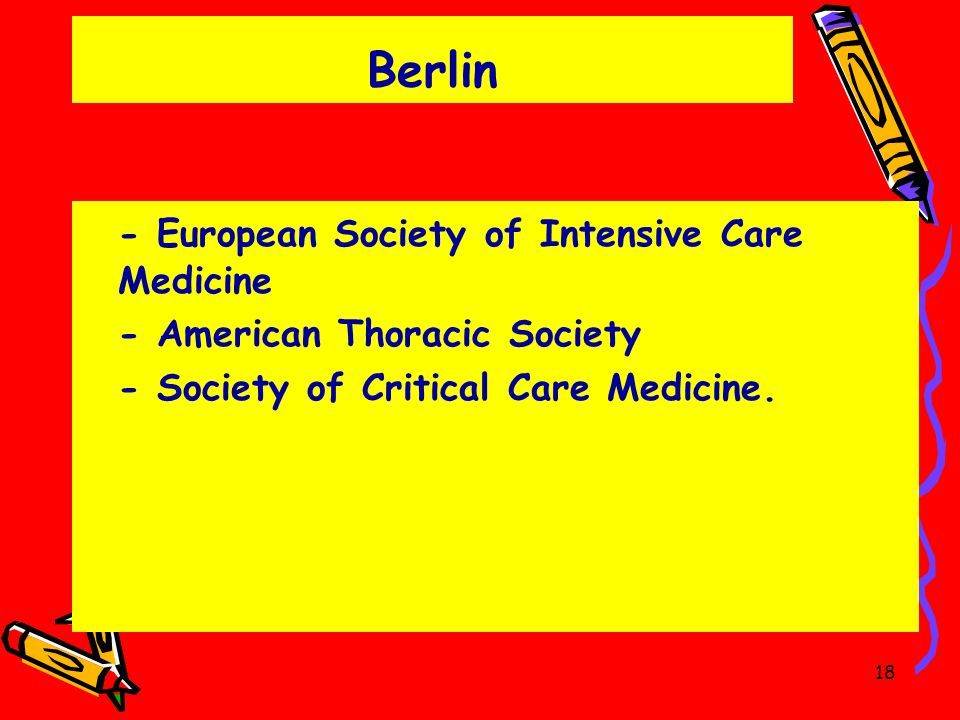 Berlin - European Society of Intensive Care Medicine