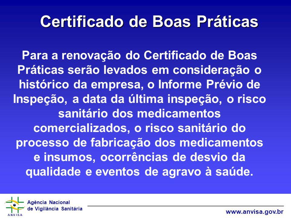 Certificado de Boas Práticas