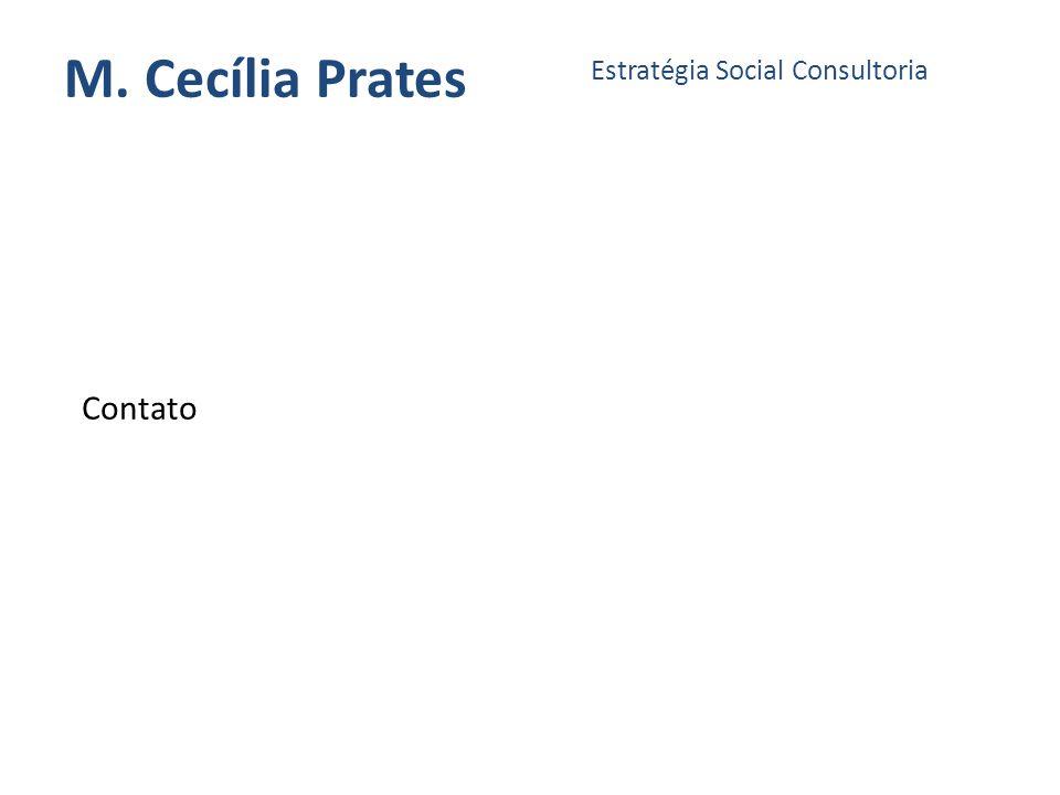 M. Cecília Prates Estratégia Social Consultoria Contato
