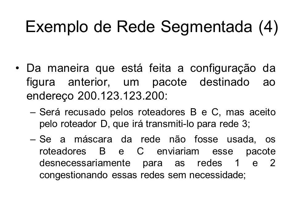 Exemplo de Rede Segmentada (4)