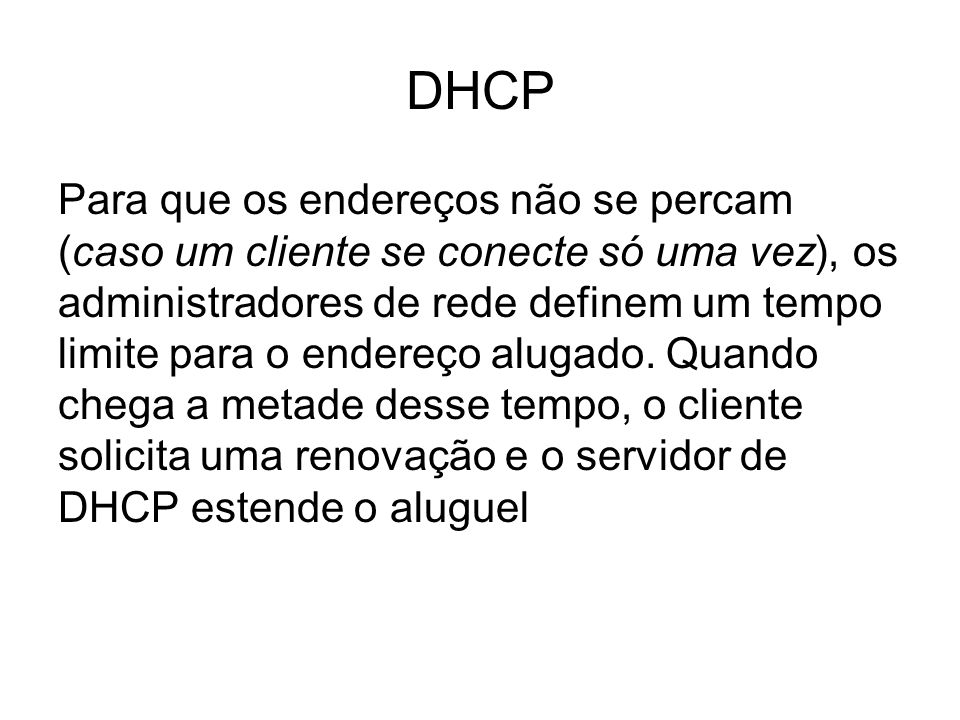 DHCP