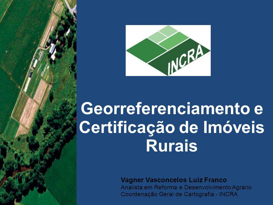 Georreferenciamento e Certificação de Imóveis Rurais
