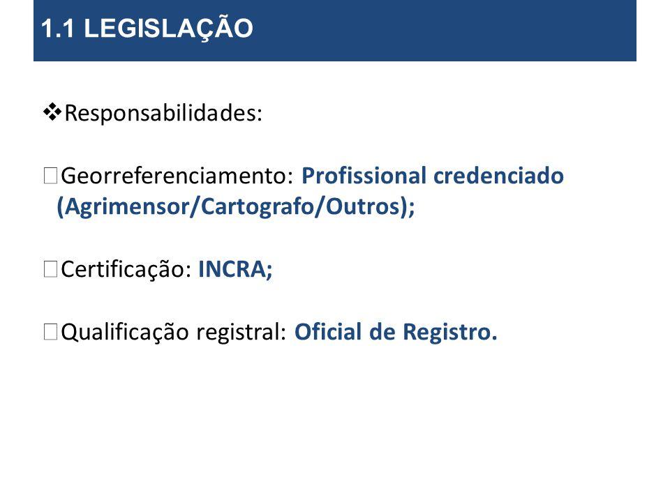 Qualificação registral: Oficial de Registro.